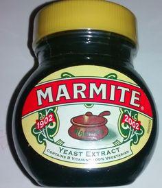 Limited Edition Marmite 1902-2002 Yeast Extract, Marmite, Vitamins, Vegetarian, Bottle, Jars, Ebay, Food, Pots