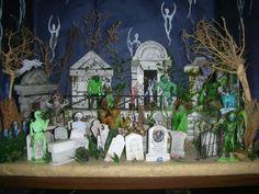 Disney Haunted Mansion Diorama