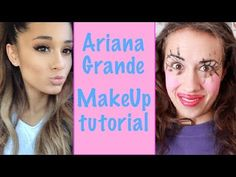 ARIANA GRANDE MAKE UP TUTORIAL! - https://www.avon.com/?repid=16581277 Shop Now  Today MirandA sings teaches you how to do your make up like ariana grande! she is my voice student so i know. i also ate soup. get my merchandizze – http://mirandasings.spreadshirt.com/ http://www.mirandasings.com (Go here for all concert ticket info) Twitter – http://www.twitter.com/mirandasings Facebook – https://www.facebook.com/mirandasingsofficial youtube – http://www