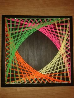 DIY String art♡