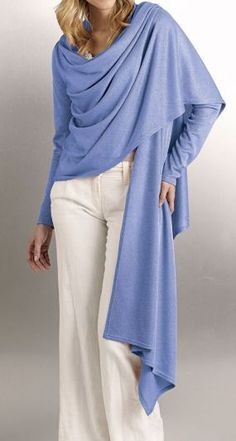 How to Construct a Cardi-Wrap