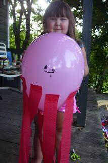 Preschool Powol Packets: Summer Fun for Preschoolers: Preschool Summer Days Octopus & Jellyfish