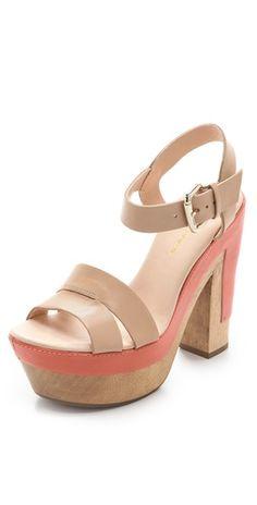 wooden heel platforms