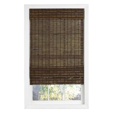 Lewis Hyman 0215504 Havana Bamboo Roman Shade 58Inch Wide by 64Inch Long Cocoa *** Click image to review more details. (This is an affiliate link and I receive a commission for the sales)