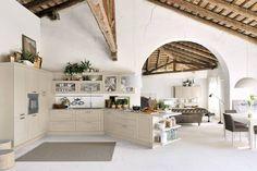 #Openconcept en la #cocina. Encimeras de Studio Ferriani
