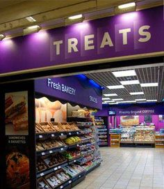 #Treats Stores chain is located throughout London, so whether you're a busy office worker or tourist, you can find one in a convenient place like the centre of a business district or popular underground station. http://www.treatsfoods.co.uk/