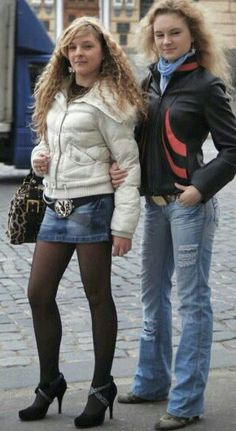 Young couples making love in pantyhose