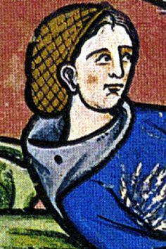klikni pro další 79/150 Medieval Crafts, Medieval Art, Historical Hairstyles, Medieval Costume, 14th Century, Illuminated Manuscript, Sculpture Art, Fiber Art, Renaissance