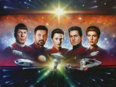 The 1st Officers of Star Trek
