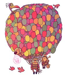Artist Dan Hipp does 'Up'