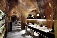 Icha Chateau restaurant in Shanghai by  Spacemen