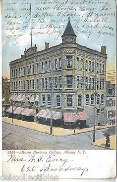 Albany Business College-Albany,New York 1907