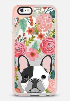 French Bulldog black and white cute bulldog frenchie puppy cell phone transparent iphone6 gold trendy dog person gifts iPhone 6s case by Pet Friendly | Casetify