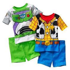 amazoncom disney toy story buzz woody pajama set clothing - Toy Story Toddler Sheets