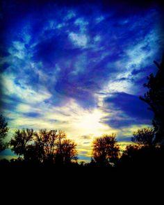 #skyline #sky #landscape #sunshine #autumn #views #landscaping #nature