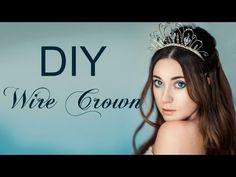 DIY Wire Crown - https://www.youtube.com/watch?v=kniwq24W4Y0