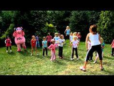 Pigy cvičí s Hankou Kynychovou ve školce - 6. část