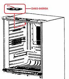 Frigidaire MD-B01AMR OBJY2 / BWL-R E21970 Microwave High