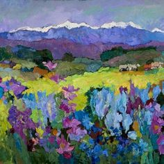 Weeds by Larisa Aukon Oil ~ 30 x 40 Art And Illustration, Illustrations, Landscape Artwork, Southwest Art, Naive Art, Oeuvre D'art, Art Oil, Painting Inspiration, Art Images