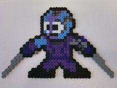 Guardians of the Galaxy - Nebula (Mega Man style) perler beads by Björn Börjesson