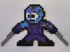 Guardians of the Galaxy - Nebula (Mega Man style) perler beads by Björn Börjesson