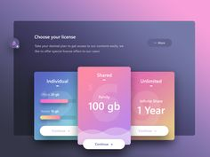 Pricing Tables Design Inspiration – Muzli -Design Inspiration