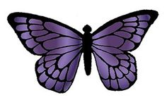 PRE-CUT MEDIUM PURPLE VIOLET BUTTERFLIES M1 EDIBLE RICE / WAFER PAPER CUP CAKE TOPPERS BIRTHDAY PARTY WEDDING DECORATION B41 (12) > Amazing product just a click away at : baking decorations