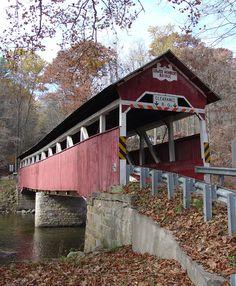 Covered Bridges of Somerset County, Pennsylvania  -  Travel Photos by Galen R Frysinger, Sheboygan, Wisconsin