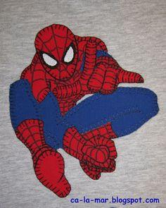 Patchwork: Camiseta de Spiderman