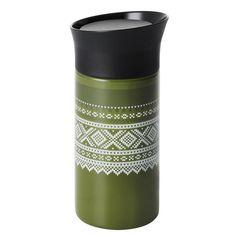 Termokopp - Marius® Grønn - Hyttefeber.no Nars, Travel Mug, Tableware, Products, Dinnerware, Tablewares, Dishes, Place Settings, Gadget