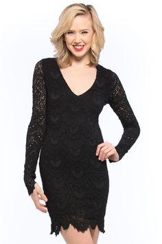 [Nightcap Clothing] Spanish Lace Dress