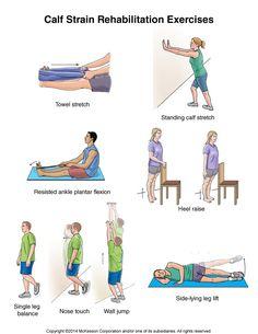 Summit Medical Group - Calf Strain Exercises
