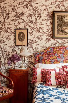 Nathalie Farman-Farma's Expert Guide To Decorating With Prints | British Vogue
