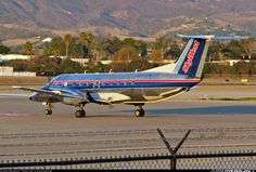 Skywest Airlines Embraer EMB-120ER Brasilia  Santa Barbara - Municipal (SBA / KSBA) USA - California, January 17, 2014