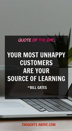 best,business quote you ever get for your business or blog .rich in words quotes from one of the most richest man in the word what do you expect .!