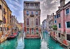 Venice, Italy.   been there...but just for a day...would loooove to go back & have time 2 take in an opera