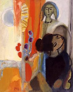 The Two Sisters, 1948, Collection Royal Museum Fine Arts,(KMSKA), Antwerp