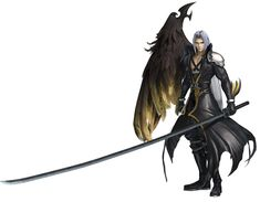 Sephiroth, One-Winged Angel C from Dissidia Final Fantasy NT