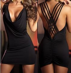 If I had a reason to buy a provocative dress, I would probably buy this one.