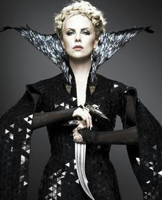 Evil Queen- i much prefer the evil queens to the doe eyed little princesses