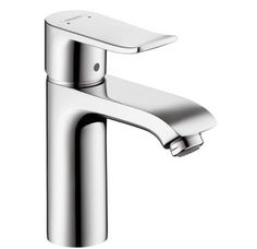 Buy the Hansgrohe 31080001 Chrome Direct. Shop for the Hansgrohe 31080001 Chrome Metris Single Hole Bathroom Faucet with EcoRight, Quick Clean, and ComfortZone Technologies - Drain Assembly Included and save. Contemporary Bathroom Sink Faucets, Bathroom Faucets, Lavatory Faucet, Master Bathroom, Bath Fixtures, Basement Bathroom, Brass Faucet, Kitchen Faucets, Modern Bathrooms