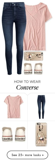 meljordrum on Polyvore featuring Aéropostale, H&M, Converse and Casetify