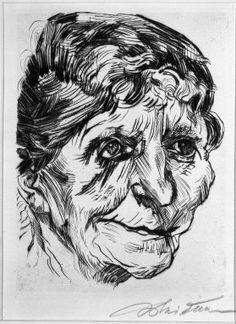 Ludwig Meidner Neo Rauch, Karl Hofer, Ludwig Meidner, Gottfried Helnwein, Hans Thoma, Portrait, Old Women, Museums, Fine Art