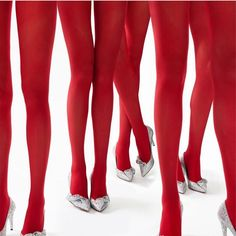 Party time #red legs @vogueparis styled by @claire_dhelens #tgif #frankiegirl #yvessaintlaurent