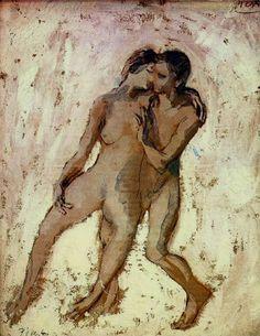 Pablo Picasso - Stripped Bare, 1905
