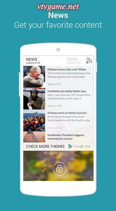 Start cho Android là ứng dụng tùy biến màn hình khóa di động tiện lợi nhanh chóng và miễn phí. Công cụ này cho phép người dùng truy cập nhanh tất cả vấn đề mình quan tâm ngay từ màn hình khóa của di động. Tải  Ứng dụng khóa màn hình-Start miễn phí cho điện thoại , máy tính bảng android.