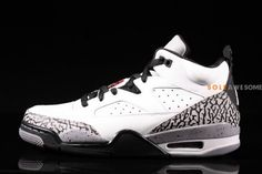 new product 37a7d 7621a Jordan Son of Mars Low White Cement Detailed Pictures