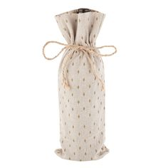 Marketplace: Gold and Cream Wine Sack