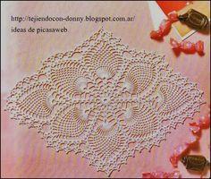 carpetas tejidas a crochet  http://tejiendoalcrochet.blogspot.com.ar/