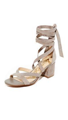 295d4bbe44a6  samedelman  shoes  sandals Lace Up Sandals
